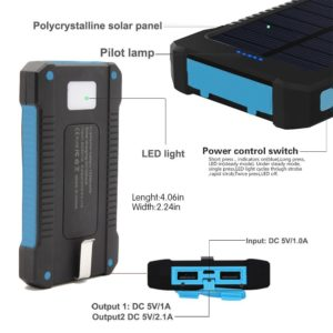 10000mah-New-Rubber-Solar-Phone-Charger-Waterproof (2)