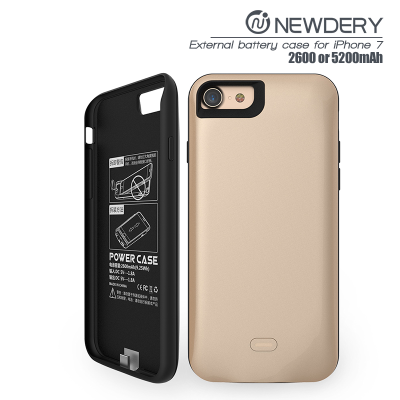 sports shoes cee0f 307a5 iPhone 7 Battery Case (Gold)