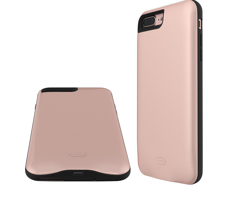 best sneakers bbeca db0ac iPhone 7+ Battery Case (Rose Gold)