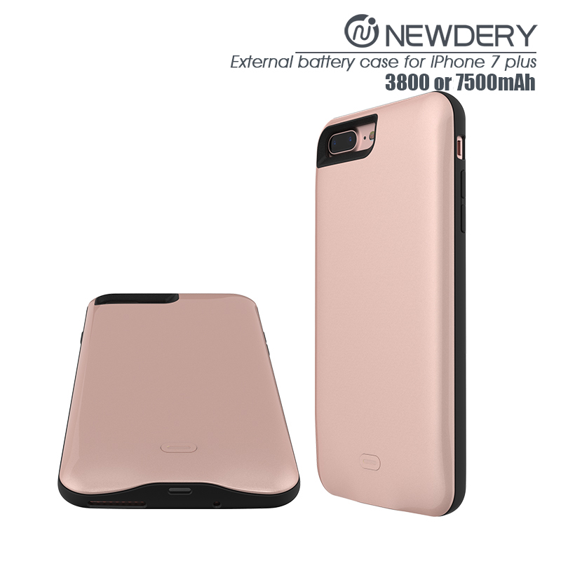 iPhone 8+ Battery Case (Rose Gold)